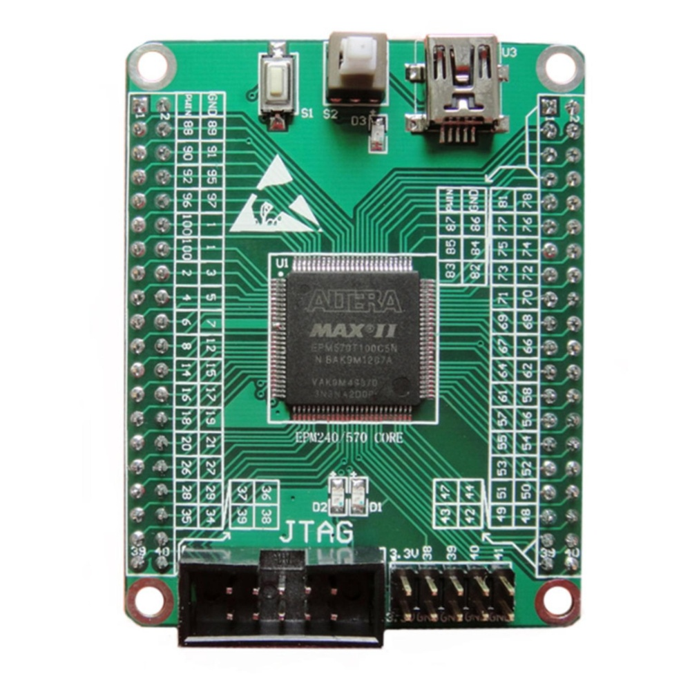 Active Components Max Ii Epm240 Cpld Development Board Learning Board Breadboard Diy Electronic Online Shop Electronic Components & Supplies