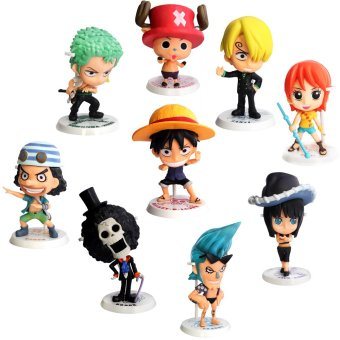 Anime One Piece Straw Hat Pirates Mugiwara no Ichimi 4-inch Premium Mini - Figures
