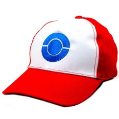Anime Zone Ash Ketchum Pokemon Anime Trainer Hat Unisex Fashionable Snapback Cosplay Cap By Anime Zone.
