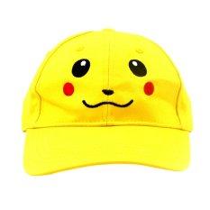 Anime Zone Super Cute Pikachu Pokemon Anime Unisex Fashionable Snapback Cosplay Cap By Anime Zone.