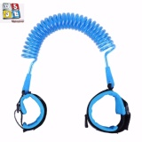 Anti-Lost Child Wrist Leash Strap Safety Harness Link for Babies, Toddlers, & Kids, 1.5m, (Blue) image on snachetto.com