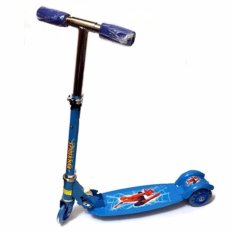 As Fortune Ride-On Push Scooter For Kids With Laser Wheel(blue) By Xzycollection.