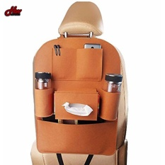 Auto Car Back Seat Storage Bag Cover Organizer Holder Bottle Tissue Box Magazine Cup