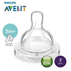 Philips Avent Medium Flow Teats 3holes – 2pcs By Lazada Retail Philips Avent.