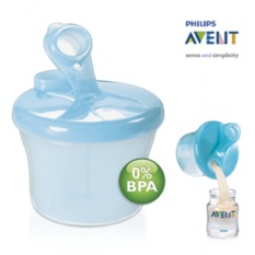 Avent Milk Dispenser Bpa Free Snack Cup ( Blue ) By Shop Direct.