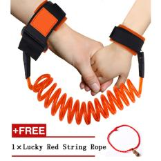 Baby Child Anti Lost Safety Hook and Loop Fastener Wrist Link Rope Band Leash Belt for