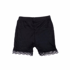 Baby Child Girls Shorts Three Modal Anti Lace Pants Children Girls Safe Shorts Black Size : 7-8years - Intl By Flying Cloud.
