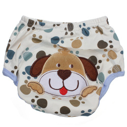 Baby Diaper Nappy Diaper Covers Potty Training Pants (dog)
