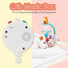 Baby Infant Crib Bed Hanging Musical Bell Electric Music Box 12pcs Sweet Melodies - intl
