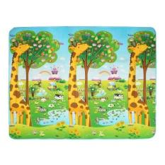 Baby Kids Toddler Giraffe Play Crawl Mat Cushion Carpet Blanket Rug Double Sided - Intl By Paidbang.