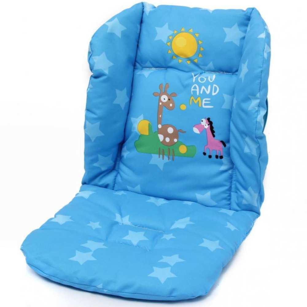 Baby Stroller Cushion Pad Pram Padding Car Waterproof Liner Blue Pad Seat Singapore
