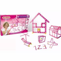 Baisiqi Construction Intellective Blocks No. 6804 (Pink)