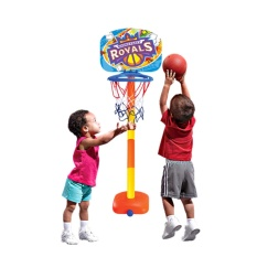 Basketball Stands Height Adjustable Kids Basketball Goal Hoop Toy Set - Intl By Waloga Toys.