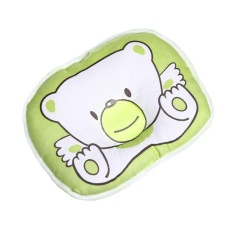 Bear Pillows For Newborn Baby Head Curve Shape Pillow Prevent Flat Head New - Intl By Yuci.