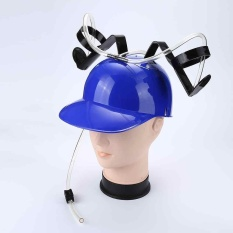 Beer Soda Guzzler Helmet Drinking Hat Party Hat Novelty Dispenser Gift New - Intl By Ailsen.