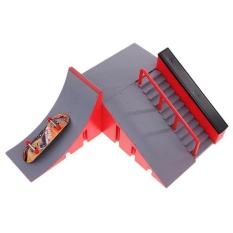 93b144680a99 BolehDeals DIY Site Skate Park Ramp Finger Board Skateboard Site Ultimate  Sports Part C - intl