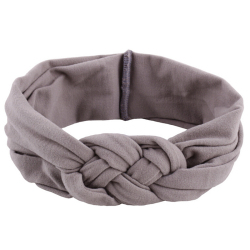 Buytra Baby Girl Knotted Hair Band (Grey)