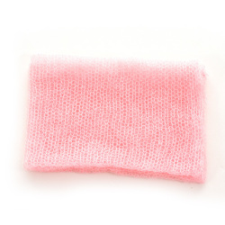 Buytra Baby Photo Prop Newborn Mohair Wrap Knit Pink