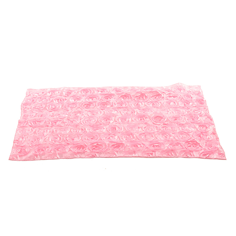 Buytra Baby Photography Props 3D Rose Flower Backdrop Pink - thumbnail