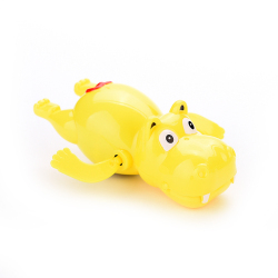 Buytra Hippo Swim Toys Plastic For Baby Educational Yellow