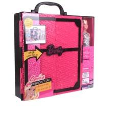 Camila Fashion Star Beauty Dream Closet Dress Up Doll Gift Set Large Child Princess Dress Girl Toy Gift(black/pink) By Analyn Stufs.
