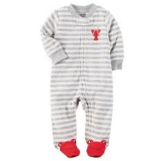 Carters Sleepsuit - Lobster & Stripes (3 Months) By Kinderposh.