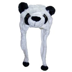 Cartoon Animal Hat Plush Beanie Fleece Winter Warm Fluffy Hooded Cap Earmuff Panda (intl) By Yidea Hongkong.