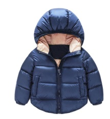 Children Clothes Boy Girl Winter Hooded Cotton Coat Jacket Outwear - Intl By Fuloophi.