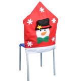 Christmas Snowman Kitchen Chair Covers - INTL - thumbnail 2
