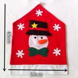 Christmas Snowman Kitchen Chair Covers - INTL - thumbnail 4