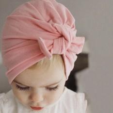 Cocotina Newborn Baby Kid Boy Girl Infant Bowknot Hat Toddler Cotton Beanie Hat Cap - intl