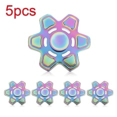 Colorful Hand Finger Spinner Fidget Aluminum Alloy EDC Hand Spinner For Autism ADHD Relief Focus Anxiety
