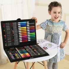 Coolfashion Children Color Drawing Tool Color 168pcs Water Color Pencil Painting Sketching Set For Primary School Student Statio - Intl By Coolfashion.