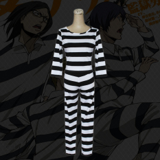 fe3997cab17e Prison School Prison COS Luchuan Flowers White Wood Bud Clothing  Sub-Pajamas women Cosplay