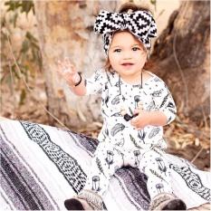 Cotton Newborn Baby Girl Boys Romper Bodysuit Jumpsuit Outfits - intl
