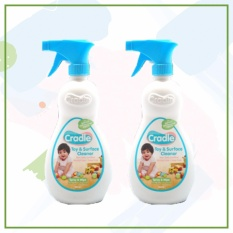 Cradle Toy & Surface Cleaner (500ml X 2pcs) By Dragon Edge Group.
