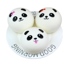 Cute Bread Squishy Slow Rising Cream Scented Decompression Toys Decoration S - intl