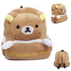 Cute Small Toddler Kids Backpack Plush Animal Cartoon Mini Children Bag for Baby Girl Boy Age 3-5 Years - intl