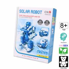 Solar toys for sale sun powered toys online brands prices cute sunlight 3 in 1 solar robot diy educational kit solutioingenieria Gallery