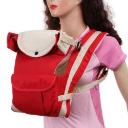 Cutie Baby Carrier Safe and Soft (Red)