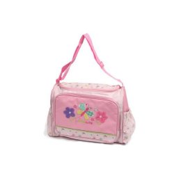 Cutie Baby Diaper Bag Summer Blossoms Butterfly (Pink)