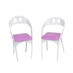 Detachable  Furniture Chairs For Dolls 2 pcs