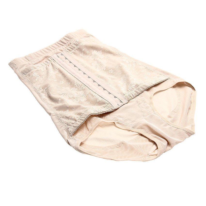 DHS Body Shaper Slimming Control Underwear Apricot XXL Women - Intl - thumbnail