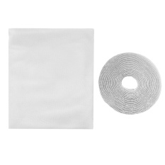 Diy Window Screen Net Insect Fly Bug Mosquito Protector Mesh Net Screen Curtain With Self-Adhesive Hook And Loop Tape 160 X 134cm - Intl By Stoneky.