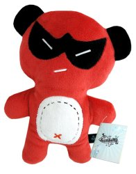 "Dooodolls 12"" Ninja Plush Doll (Red)"