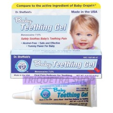 Philippines. Dr. Sheffield s Baby Teething Gel (Cherry Flavor) 9.35g e96b4771a