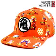 Dragon Ball Z Unisex Fashionable Snapback Cosplay Cap (orange) By Otaku Shoppu.