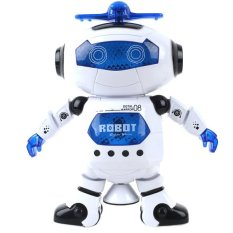 Electronic Walking Dancing Smart Space Robot Astronaut Kids Music Light Toy By Comebuy88.