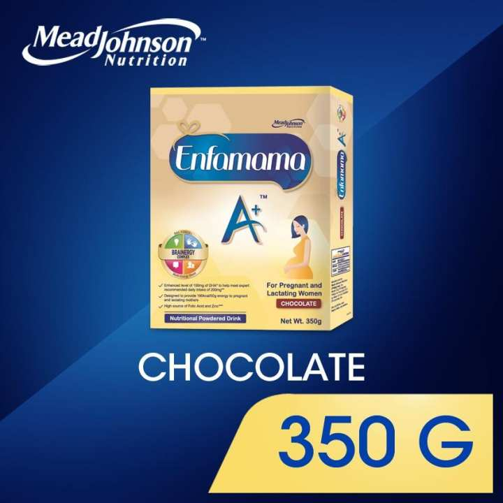 Enfamama A+ Chocolate Nutritional Powdered Drink for Pregnant and Breastfeeding Women 350g