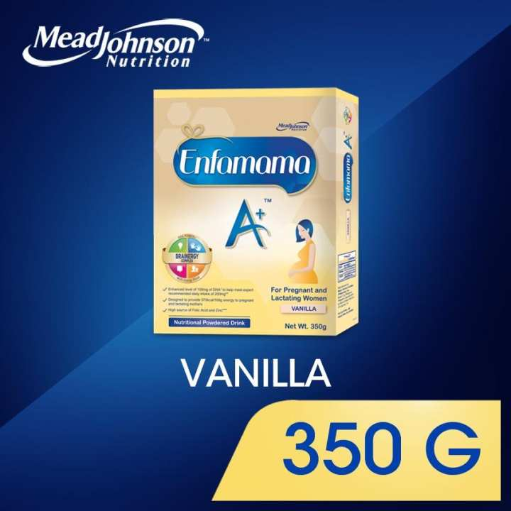 Enfamama A+ Vanilla Nutritional Powdered Drink for Pregnant and Breastfeeding Women 350g